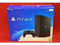 Sony PS4 Playstation 4 Pro 1TB Console Boxed £310