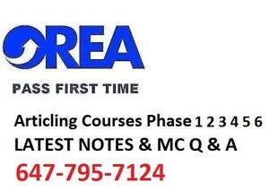 OREA EXAM/NOTES: EXACT EXAM QUESTIONS 100% Course 1-6