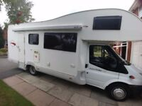 Motor Home. Auto Roller 700.(Based on Ford Transit) 2.4cc Turbo Diesel.