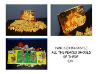 LEGO STYLE CASTLE FROM THE 1980'S
