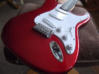 WESLEY STRATOCASTER TYPE ELECTRIC GUITAR