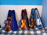 Violins - various from £60