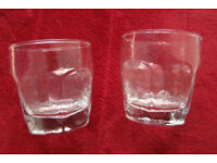 Set of Eight Liqour Glasses, Vintage (date from the late 70s early 80s)