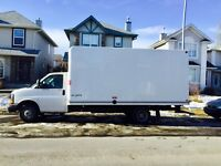 16 ft TRUCK LOOKING FOR CONTRACT/ WORK. $55 per hour