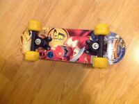 Power Rangers mini skateboard