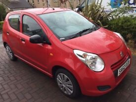 **SUZUKI ALTO** 62 REG. 3 SERVICE STAMPS. £0 ROAD TAX NEEDED. 1.0 LITRE. CHEAP TO RUN.