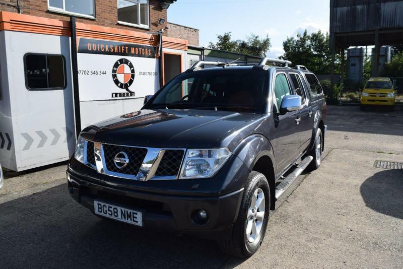 2009 Nissan Navara 2.5dCi Double Cab Pickup Outlaw Diesel Manual