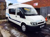 Ford transit lwb autosleeper 2 berth sink cooker tv DVD brand new convertion 51 Reg great condition