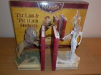 """Narnia: """"The Lion & The Witch Bookends""""."""