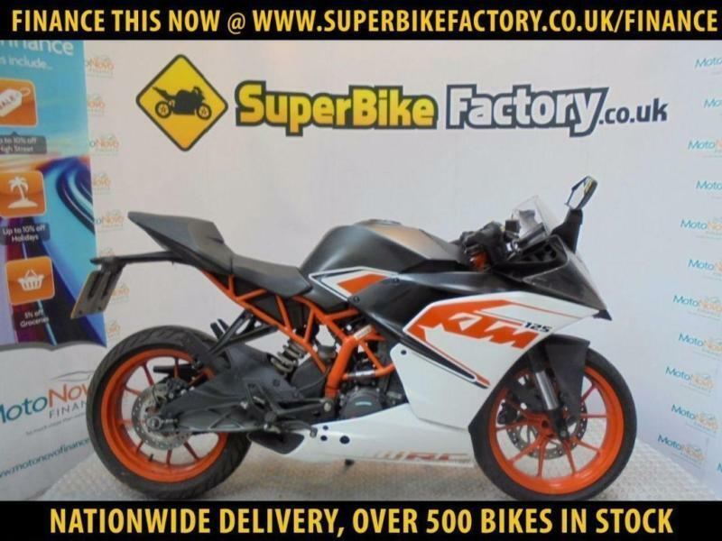 2016 16 ktm rc 125 | in macclesfield, cheshire | gumtree
