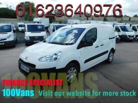PEUGEOT PARTNER 1.6HDI 850 PROFESSIONAL AIR CON 1 OWNER 30K F/S/H