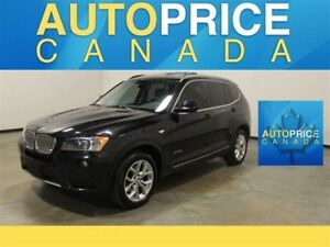 2014 BMW X3 xDrive28i NAVIGATION|PANOROOF|REAR CAM