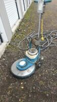 INDUSTRIAL FLOOR BUFFER, CLEANER WITH 8 BUFFING PADS I