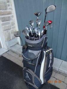 Complete Set - 14 Clubs, Ping Irons, TM Driver, Ping Bag