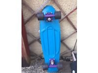 "Genuine Custom Penny Board ""Nickel"""