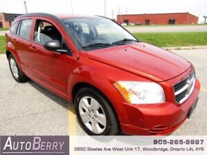 2009 Dodge Caliber SXT **ACCIDENT FREE ONE OWNER CERTIFIED**