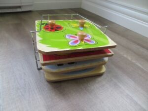 4 Puzzle and Tray