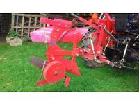 Plough single furrow reverseable