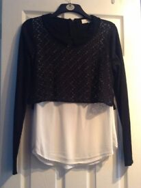 Black & White Top from NEXT