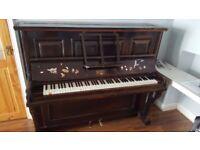 Piano for free. Pick up Shirley, Croydon