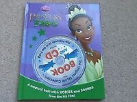 Disney The Princess and the Frog hardback book and CD A Magical tale with voices