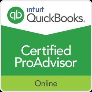Quickbooks Online Bookkeeper and Training for Small Business