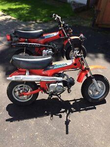 4 Honda 2 ct70. 2. St 90