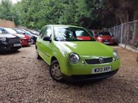 Volkswagen Lupo 1.4 E 3dr LOW MILEAGE, AUTOMATIC!!, GREAT FIRST CAR CHEAP INSURANCE AND RUNNING COST