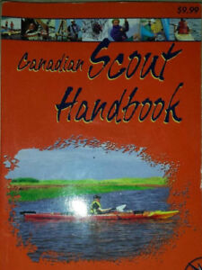 Canadian Scout Handbook printed early 2000s
