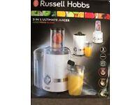 Russell Hobbs 3 in 1 juicer.