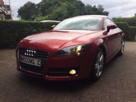 2007 Audi TT 2.0 TFSI - Automatic - Full Service History - Low Mileage - S-Line Styling - Garnet Red