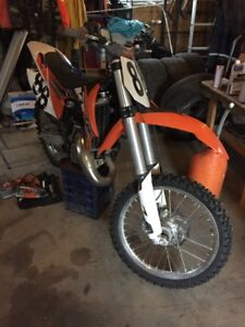 2012 KTM 150SX Dirt Bike - GREAT CONDITION, RARELY DRIVEN
