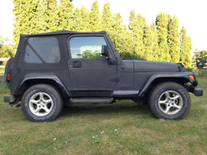 Beautiful 2000 Jeep TJ Sahara