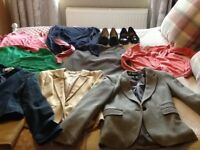 8 items of clothing 2 pairs of shoes top shop/warehouse/nexr