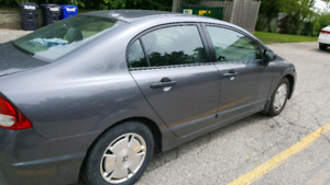Honda civic 2009 very clean good on gas