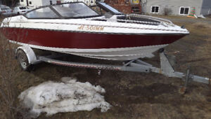 1992 bowrider 17.2 ft  4 cyl inboard