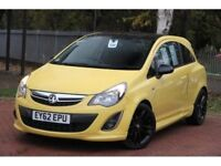 Vauxhall Corsa Special Edition in Yellow, Sat nav, all special edition extras,38,000 miles