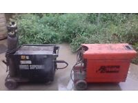 1 special edition sealy welder super mig 185 and 1 telwin 180 welder both working one needs a new to