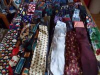 large tie collection joblot 90+ ties