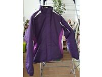 Purple women's Parallel ski jacket size 10 - only worn once