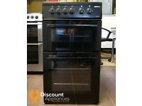 50cm Beko Ceramic Cooker, Double Oven / Grill ( Fan Assisted) - 6 Months Warranty