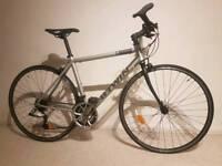 Aluminium lightweight road bike B-twin