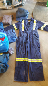 Assorted coveralls