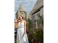 Beautiful Grecian inspired Wedding Dress