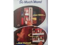 Swivel Spice Rack Space Saver