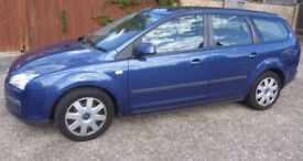 SUPERB VERY LOW MILEAGE DARK BLUE FORD FOCUS ESTATE LX AUTO WITH MOT