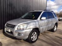 2005 (54) Kia Sportage 2.0 XS 5dr 2 Keys, 1 Owner, 12 Months MOT, Finance Available, May PX