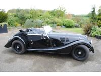 Morgan Roadster LHD Left hand drive 3.7ltr Black, Tax free export to Europe 2014