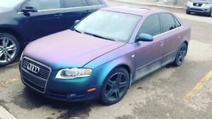 2006 Audi A4 chameleon blue purple !