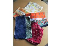MIXED SELECTION OF FABRIC PIECES